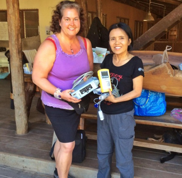 Thank you Ann Ahlgren for medical equipment donation to Elephant Nature Park