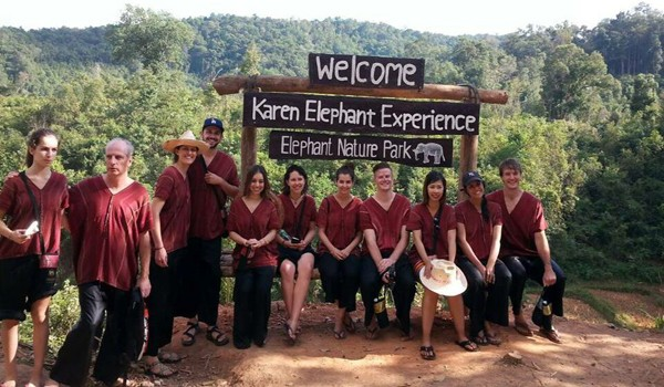 Karen Elephant Experience visitors always have a great memorable experience.